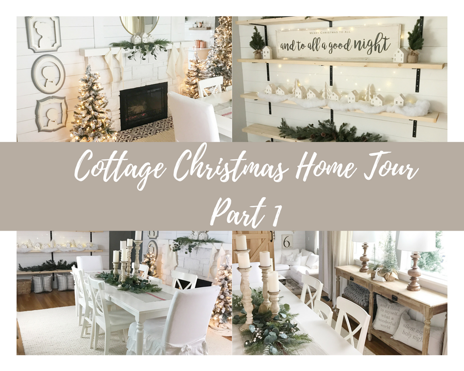 Christmas Cottage Home Tour | Dreaming of Homemaking #farmhousechristmas #christmasdecor #moderndecor #modernchristmas #holidaydecor #farmhousedecor #allthingschristmas #everthingchristmas #homedecor #farmhousestyledecor #farmhousehome #farmhouse #farmhouselife #dreamingofhomemaking