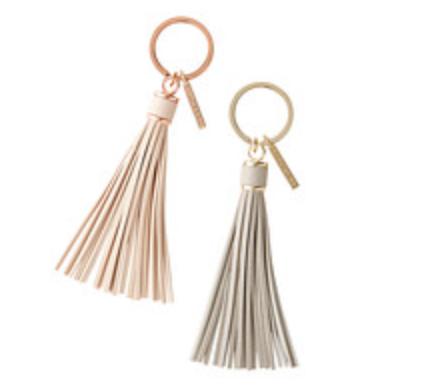Stackers Tassel Keychain