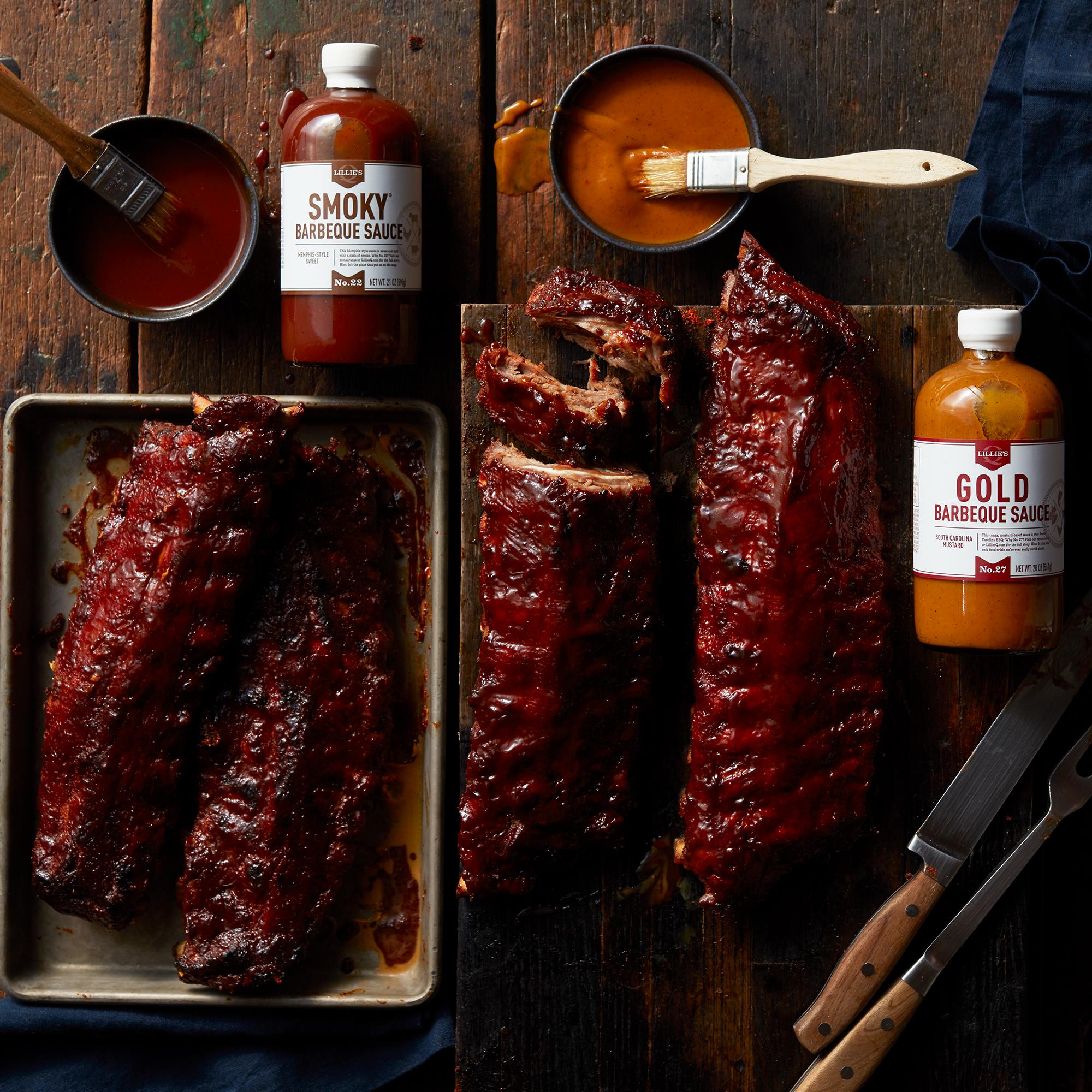 Deluxe Pork Ribs & Sauces Gift Set