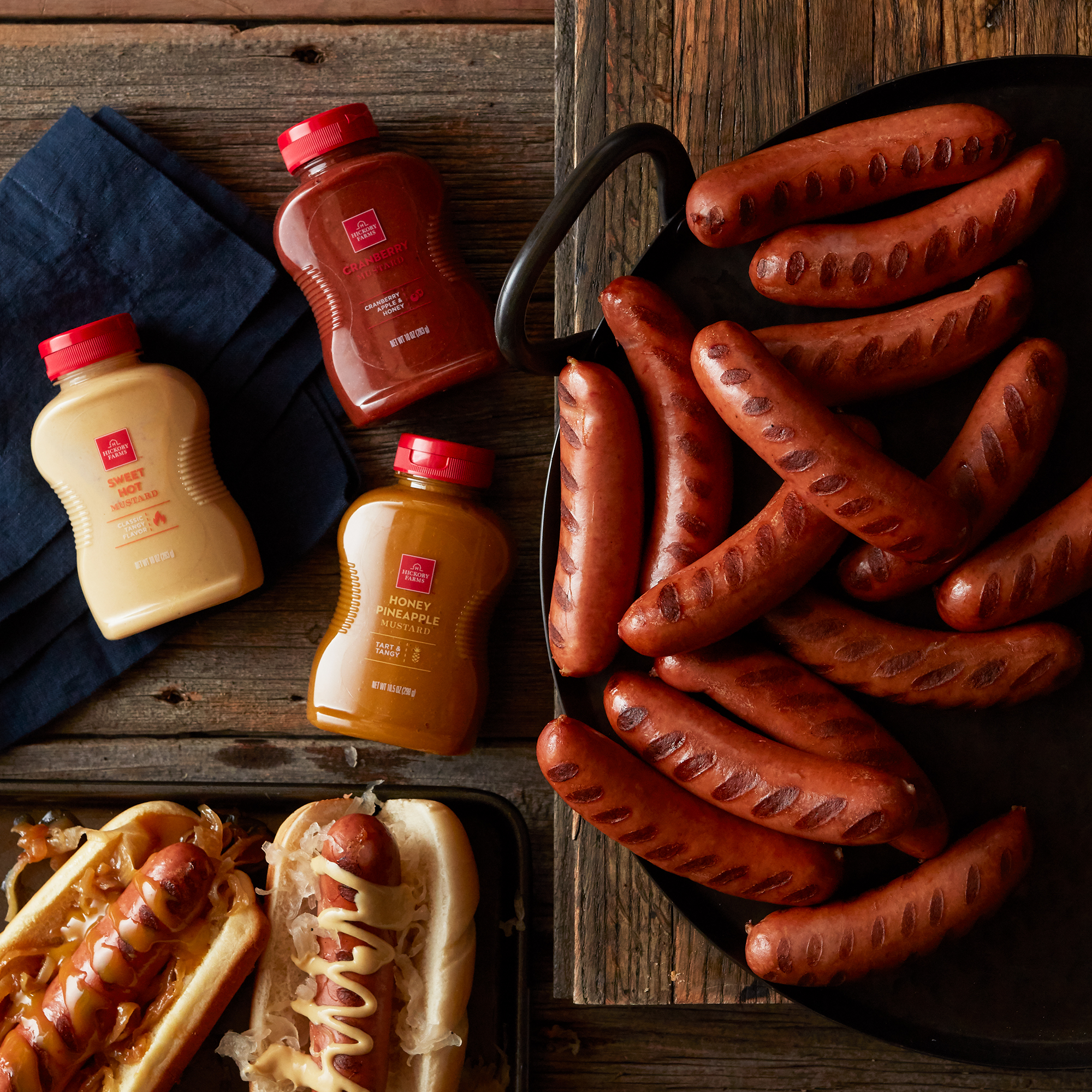 Classic Bratwurst & Mustard Gift Set