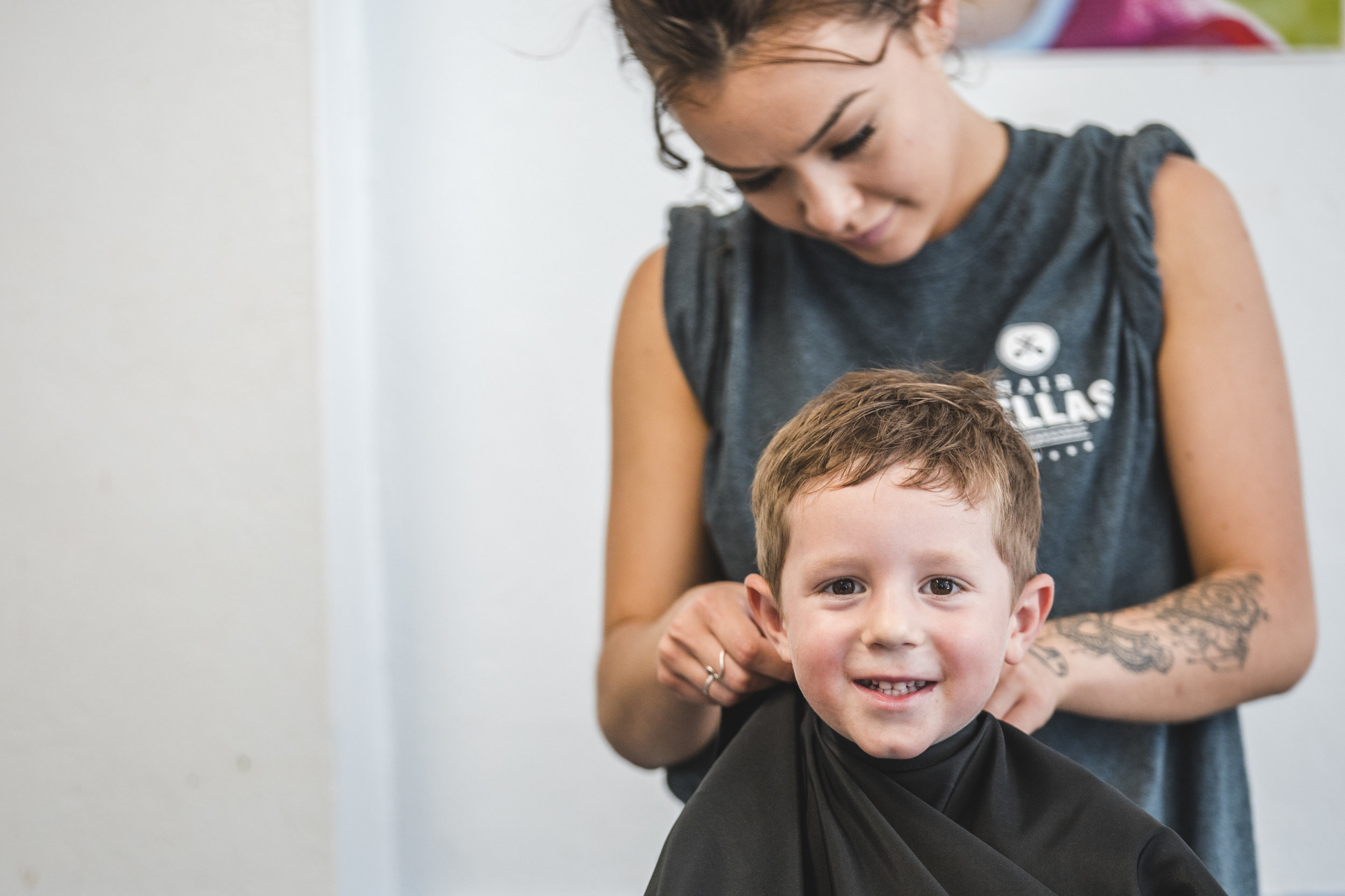 Register your child for free haircuts    Register Now