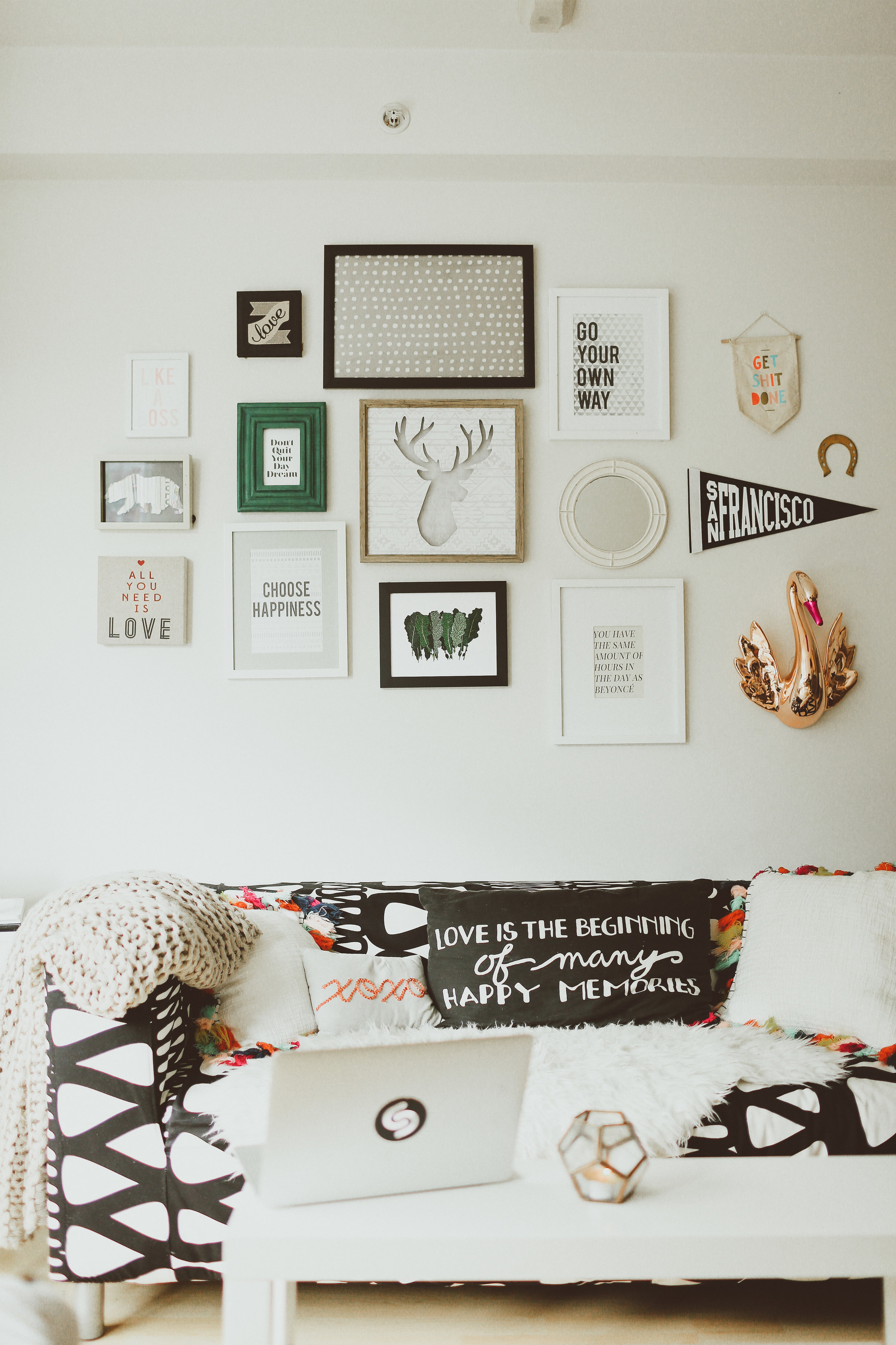The EveryGirl Home Tour - My studio and my story were featured on the EveryGirl.