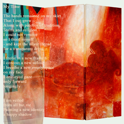 my time- painting by Mazin Ahmed poetry by Halee Isil Cosar.jpg