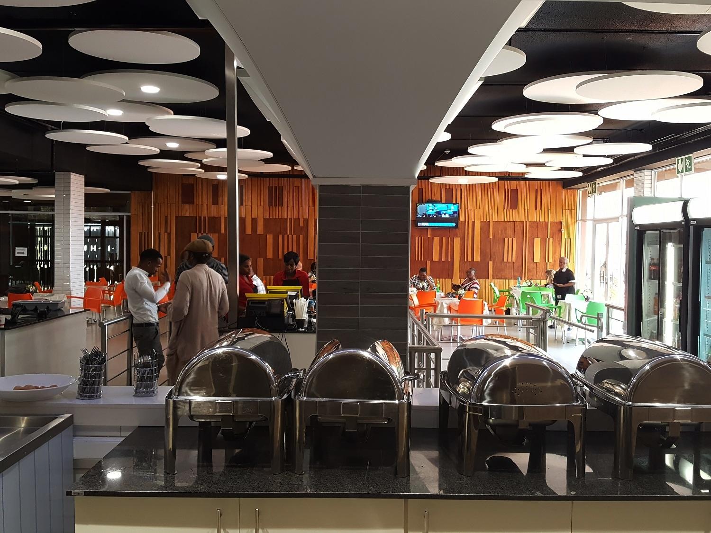 unisa canteens renovation phase I - Muckleneuk, Pretoria