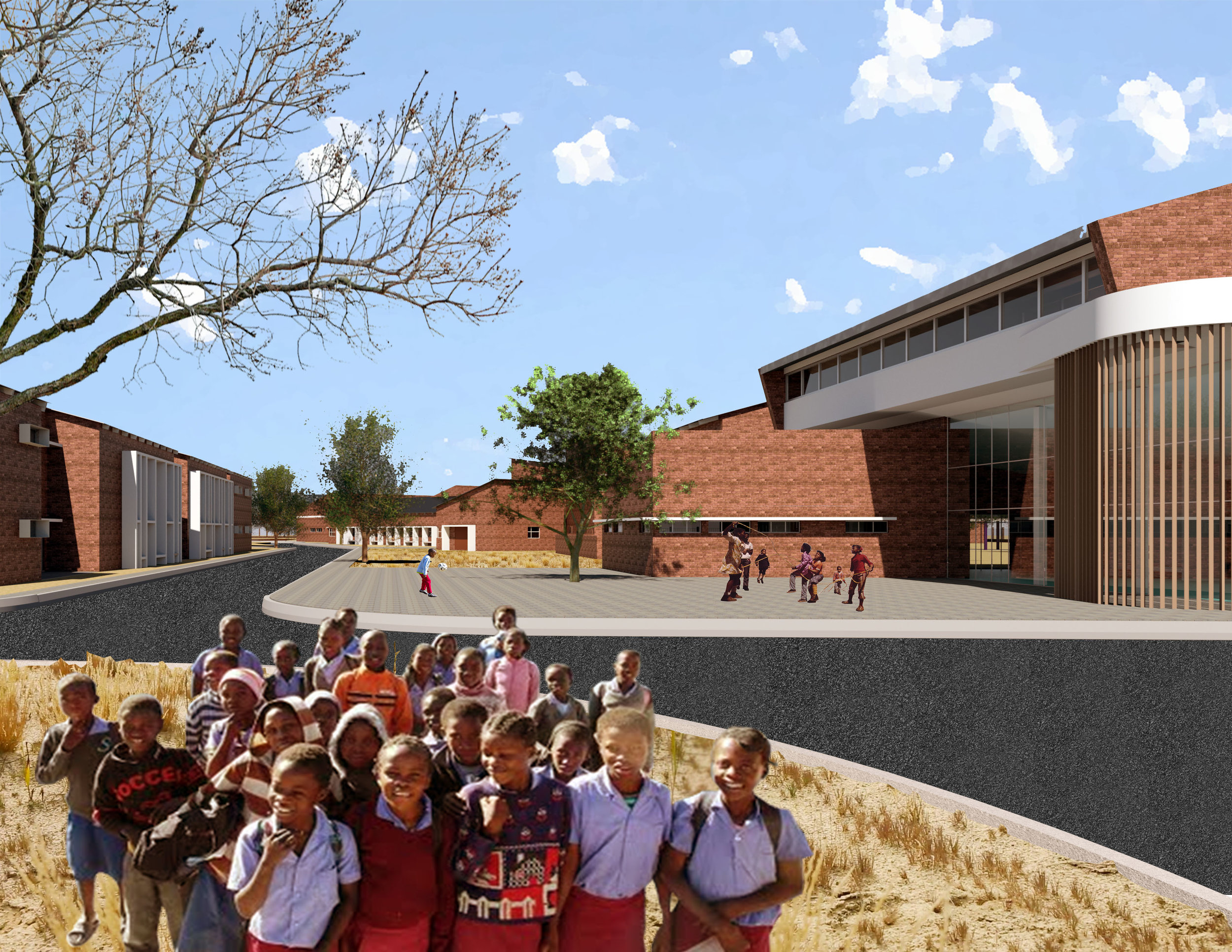 holy cross school in okongo - Okongo,Namibia