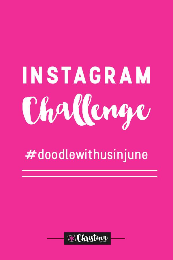 Instagram Challenge - #doodlewithusinjune