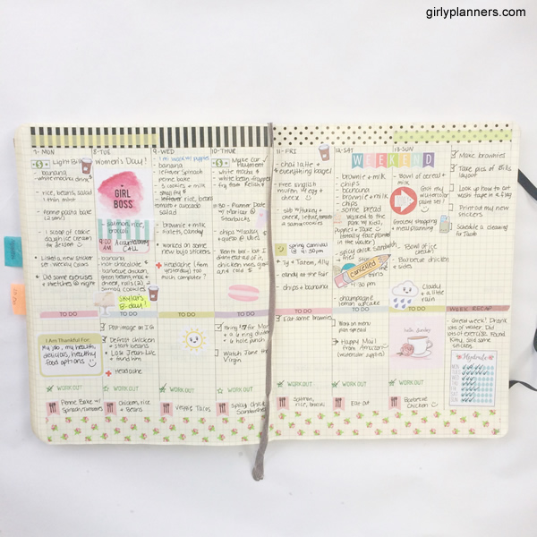 Girly Planners