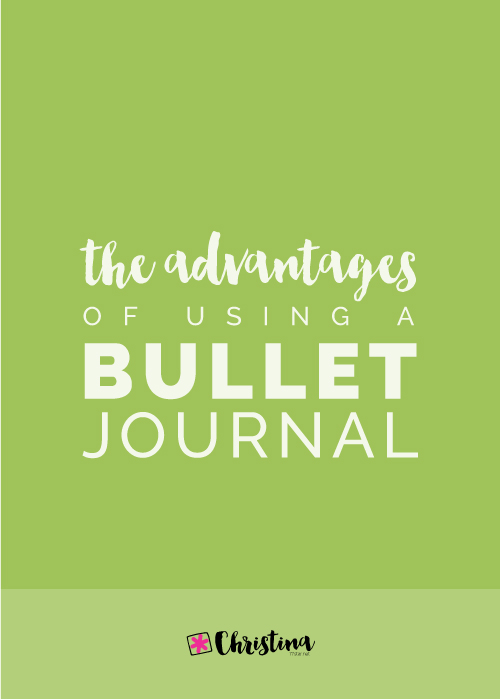 The Advantages of Using a Bullet Journal
