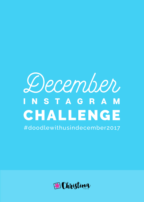 November Instagram Challenge Doodlewithus
