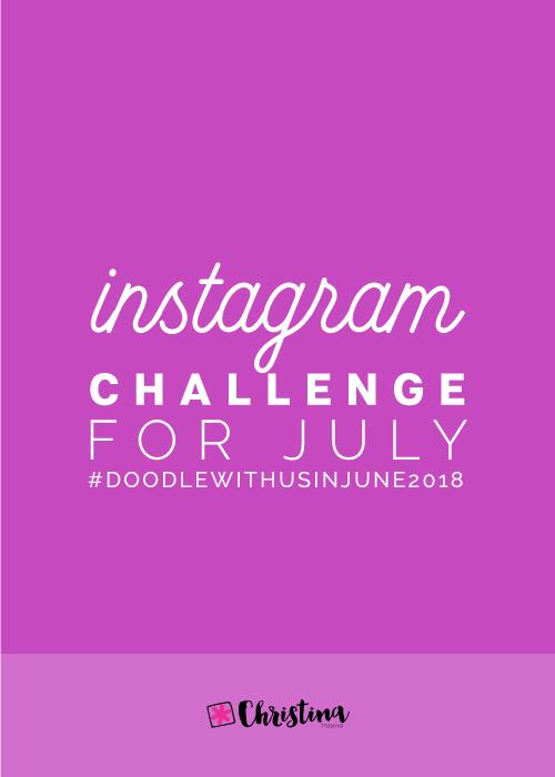DoodleWithUs Instagram Challenge - July 2018