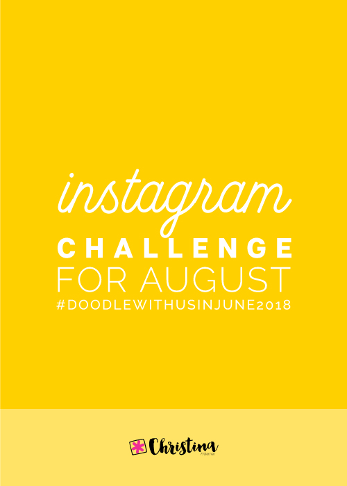 Doodle With Us Instagram Challenge - August 2018