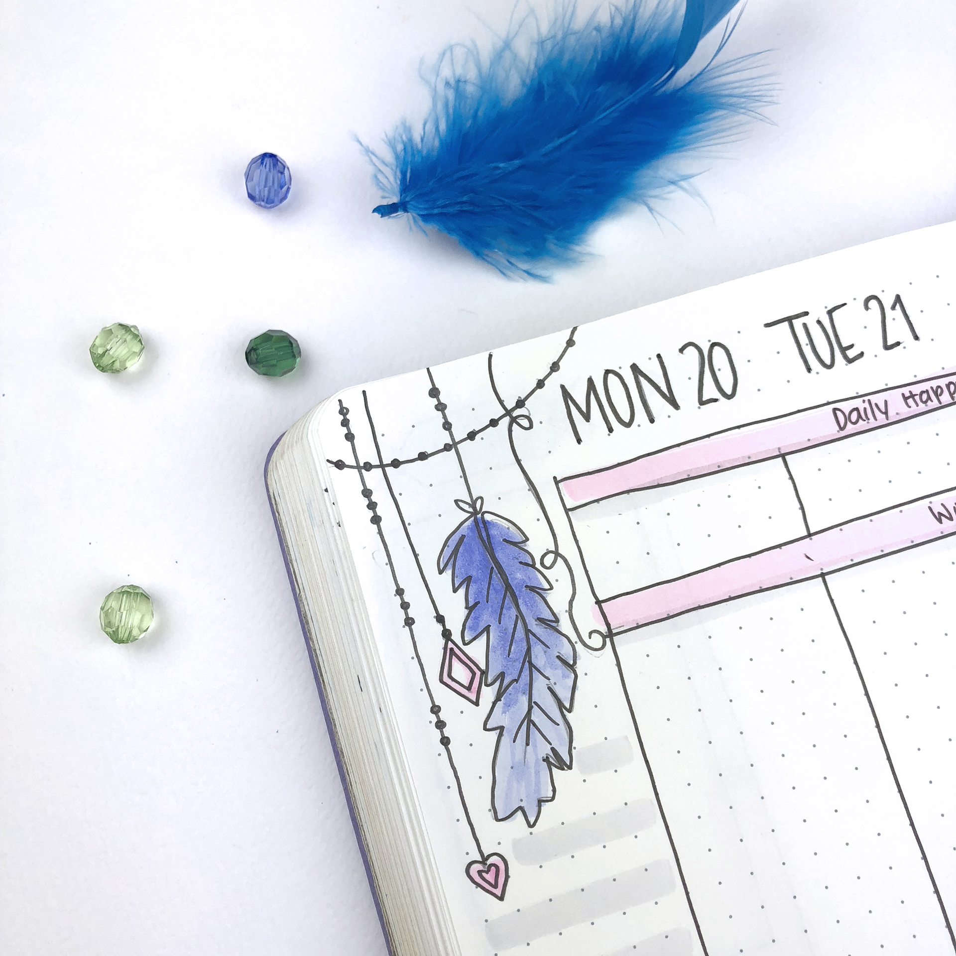 Bullet Journal Ideas: 3 Weekly Spread Layouts for August 2018