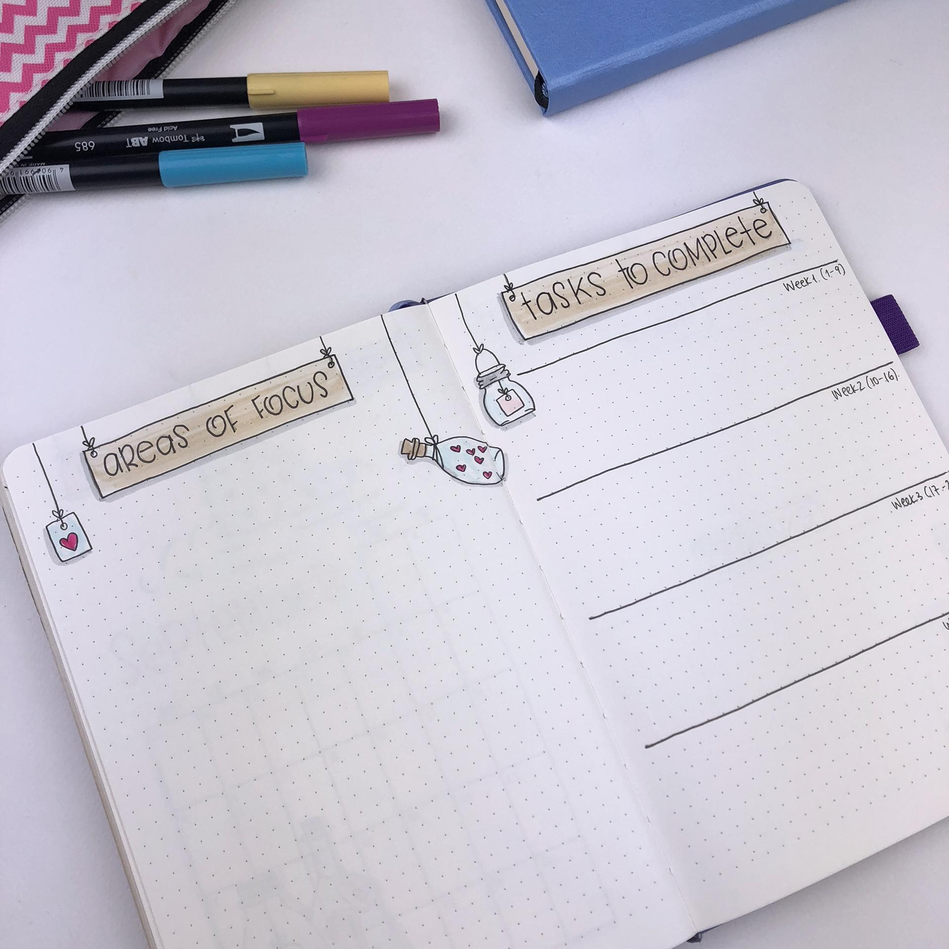 Plan With Me: My September September Setup in my Bullet Journal