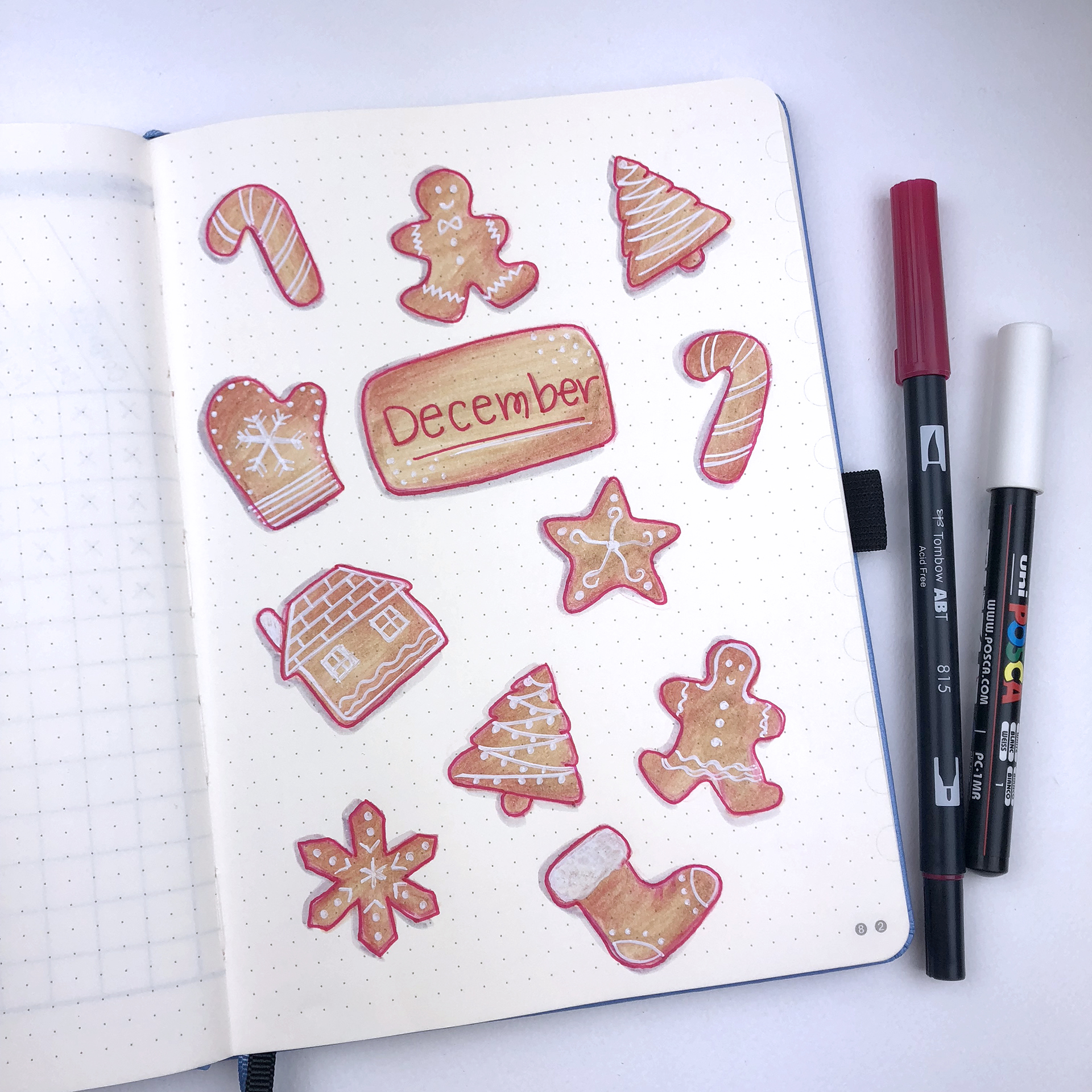 Cover Page - Bullet Journal Plan With Me - December 2018