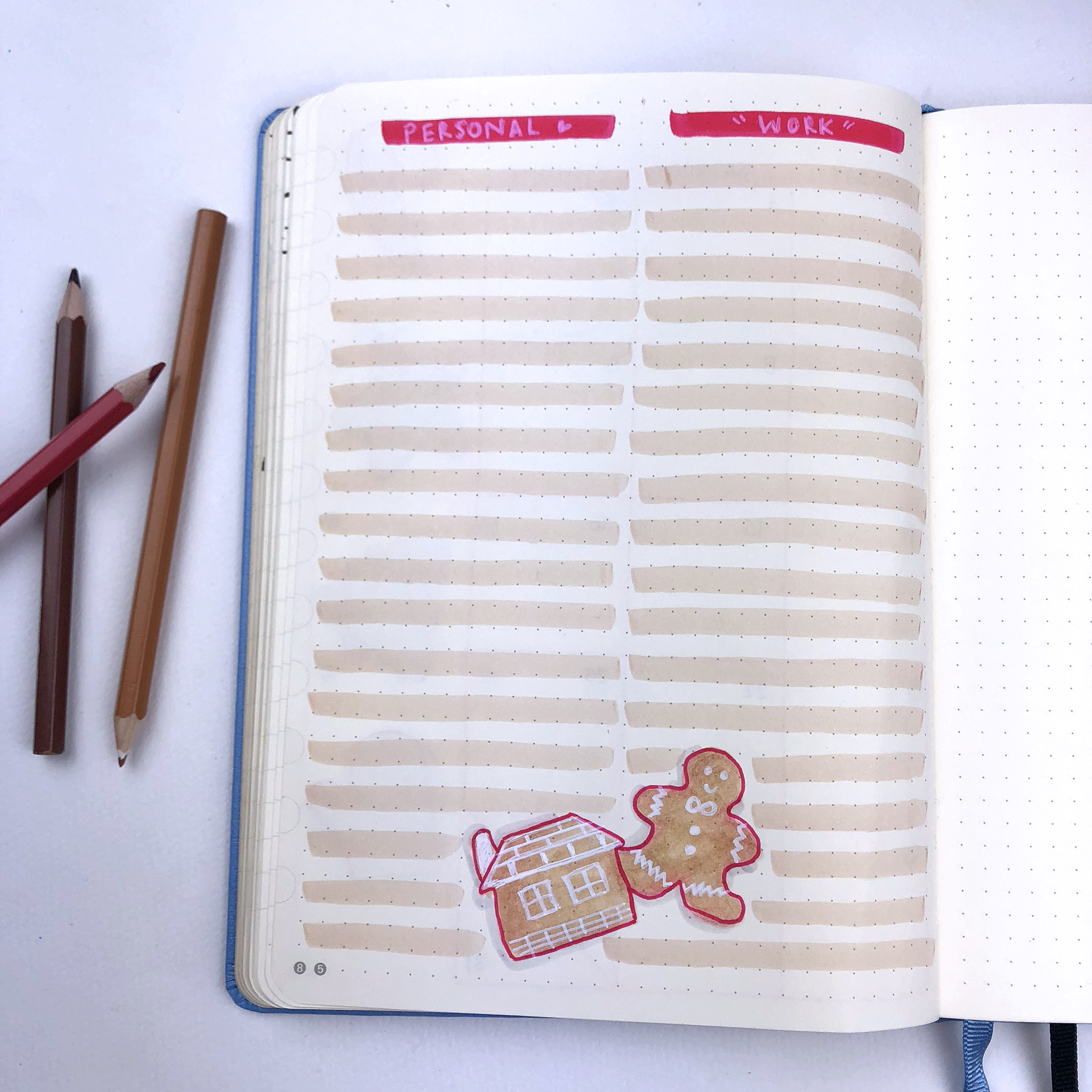 Monthly Goals - Bullet Journal Plan With Me - December 2018