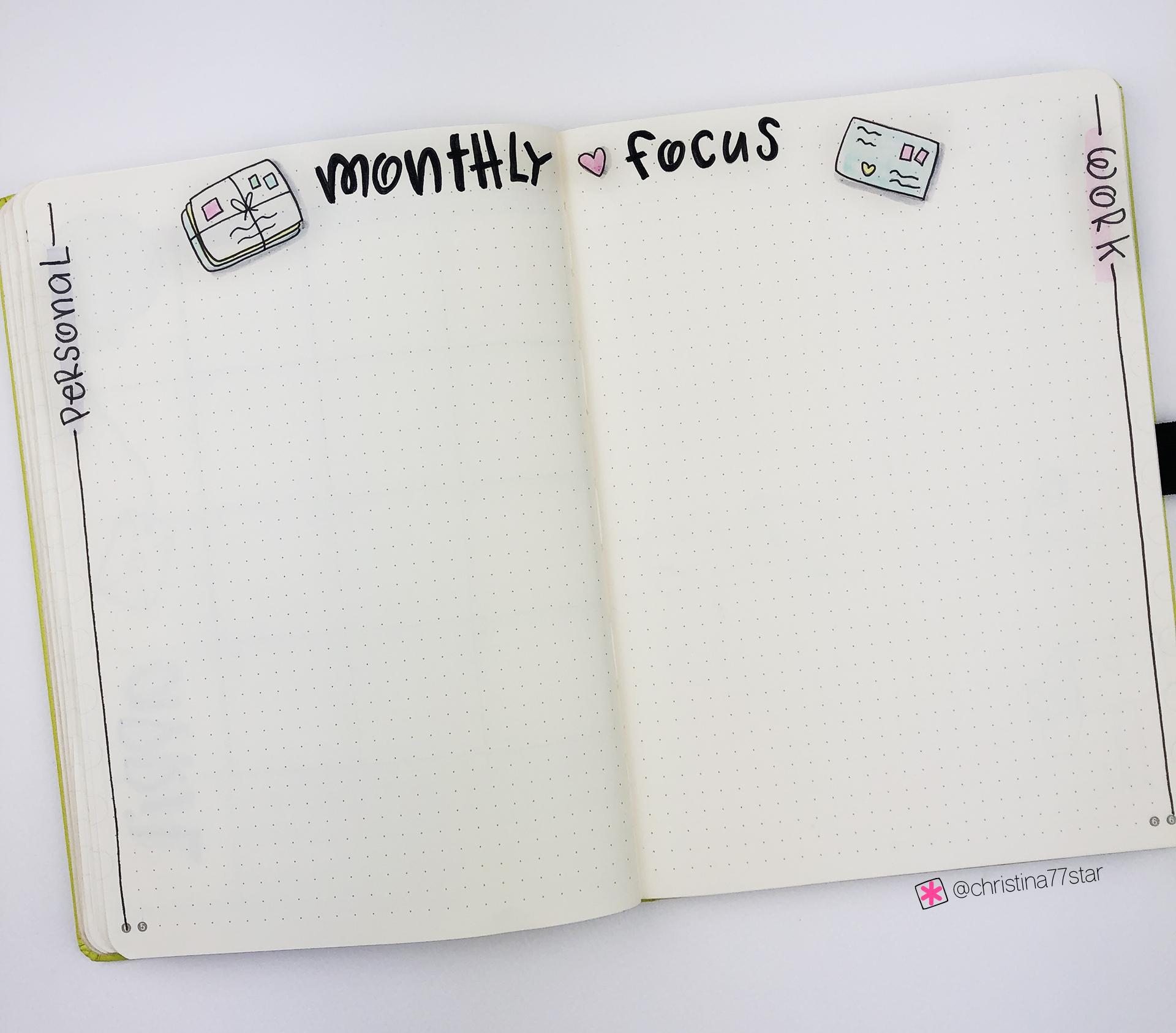 Plan With Me - Bullet Journal Setup - April 2019