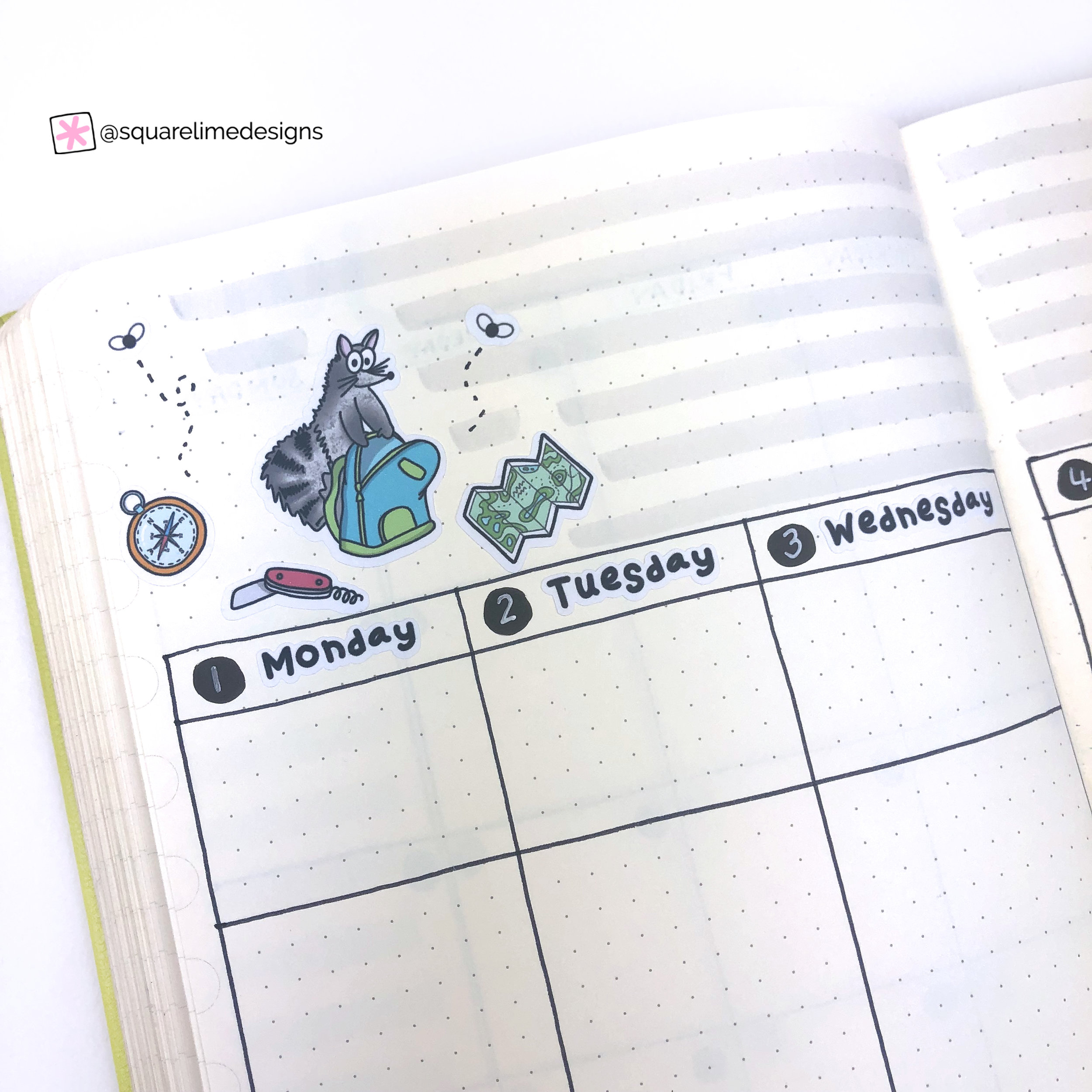 Weekly Spread - July 2019 Plan with me - Bullet Journal