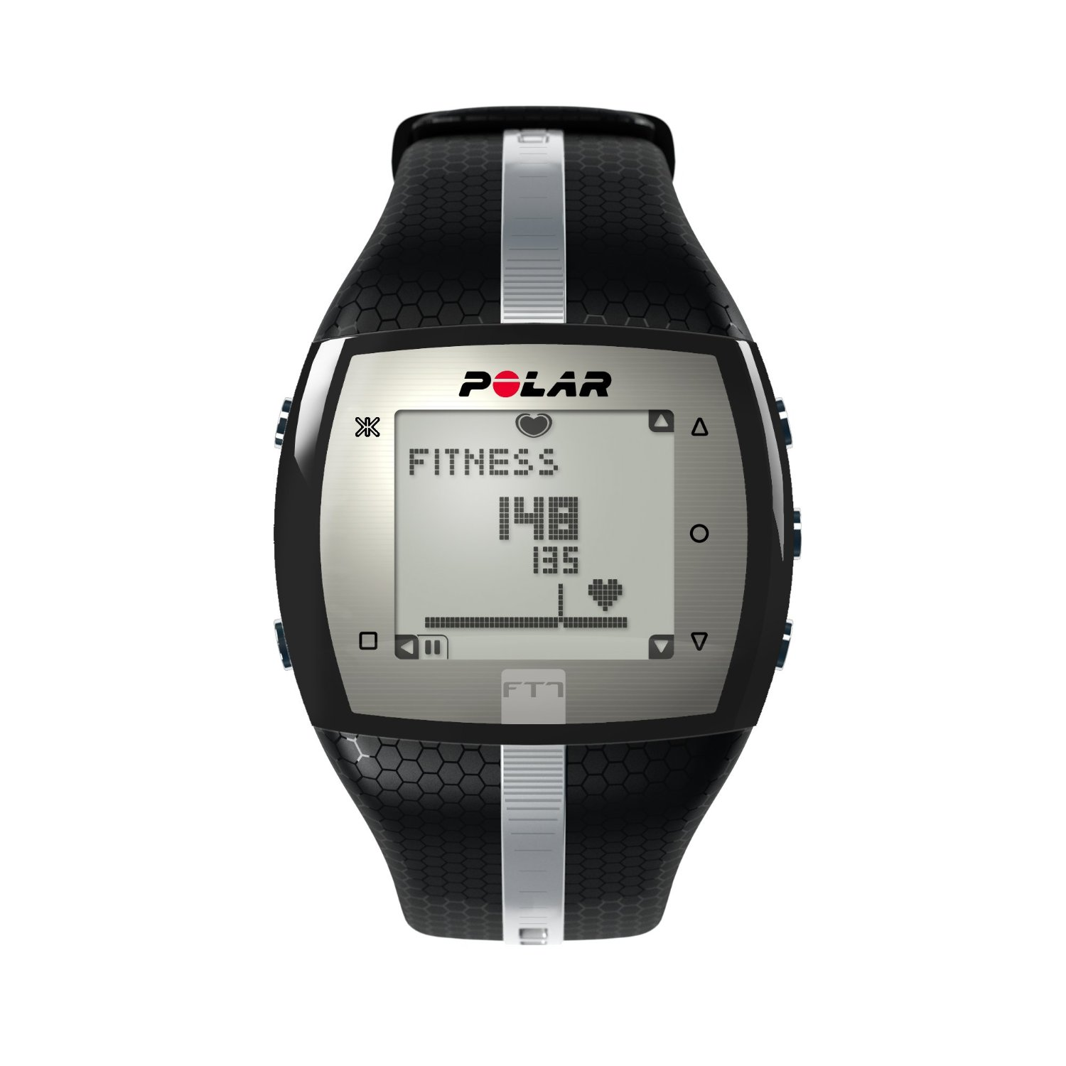 Polar FT7 Heart Rate Monitor - I wear this product to determine when I am in the optimal fat burning zone for my workouts. It enables me to keep a close eye on my heart as well, to make sure that I am working hard enough, but not too hard.