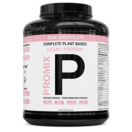 Promix Plant Based Protein - For an even HEALTHIER option, we recently switched to this vegan protein powder. slightly less protein per serving and a little bit different flavor, but much better for digestion and functionality.