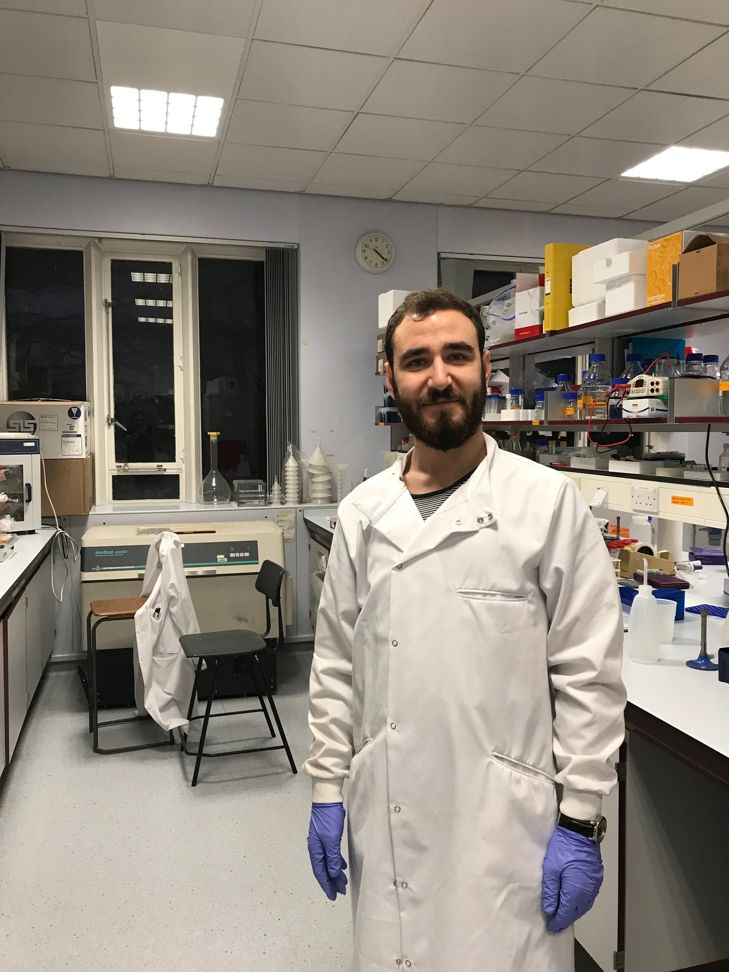 Christian Todaro - Christian joined the lab as a 4th Year MBiolSci student, following on from a 3 year undergraduate at the University of Sheffield. Christian is originally from just down the road in Derby, and will be working on in vitro assembly of transcriptional co-actvator complexes. In his spare time he is actively involved in charity work with the University students union.Since Graduating, Chris has been travelling around Australia.