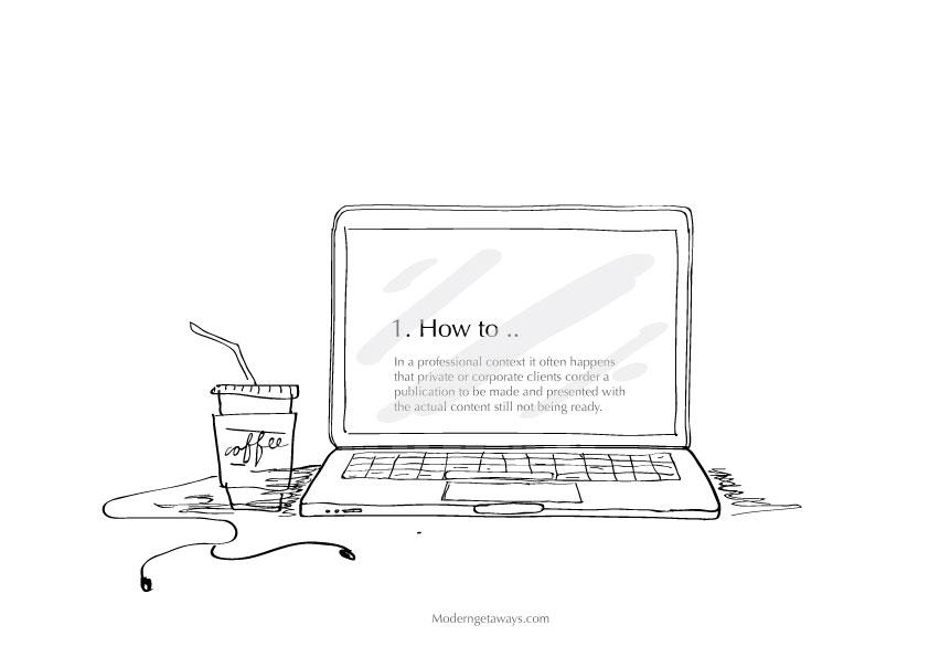 Illustration by Niloefar Bitarafan , Team Modern Getaways