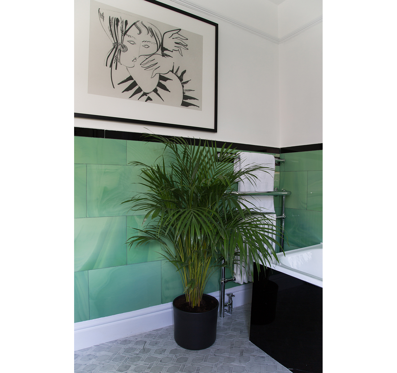 Zebra Lady  - Framed A1 Giclee print