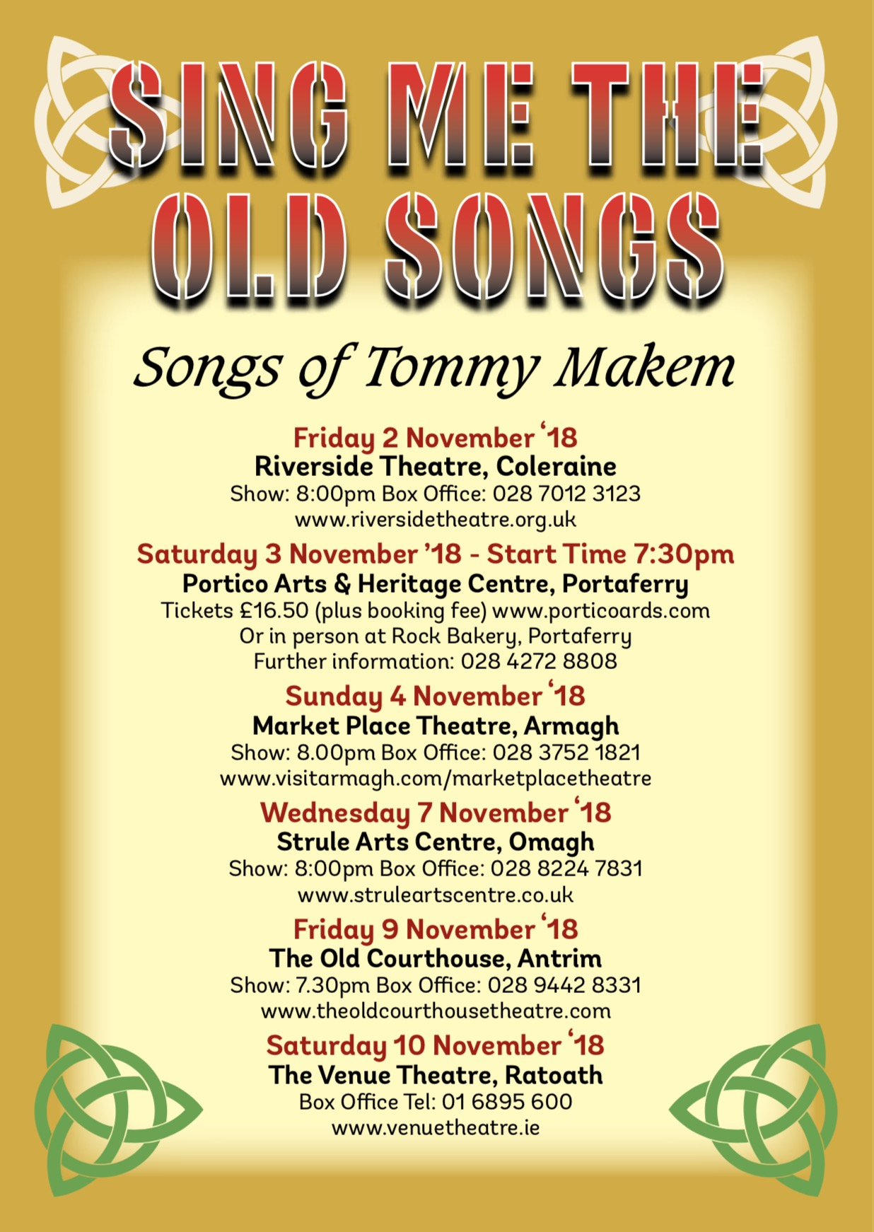 Sing Me The Old Songs - Tommy Makem - Tom Sweeney