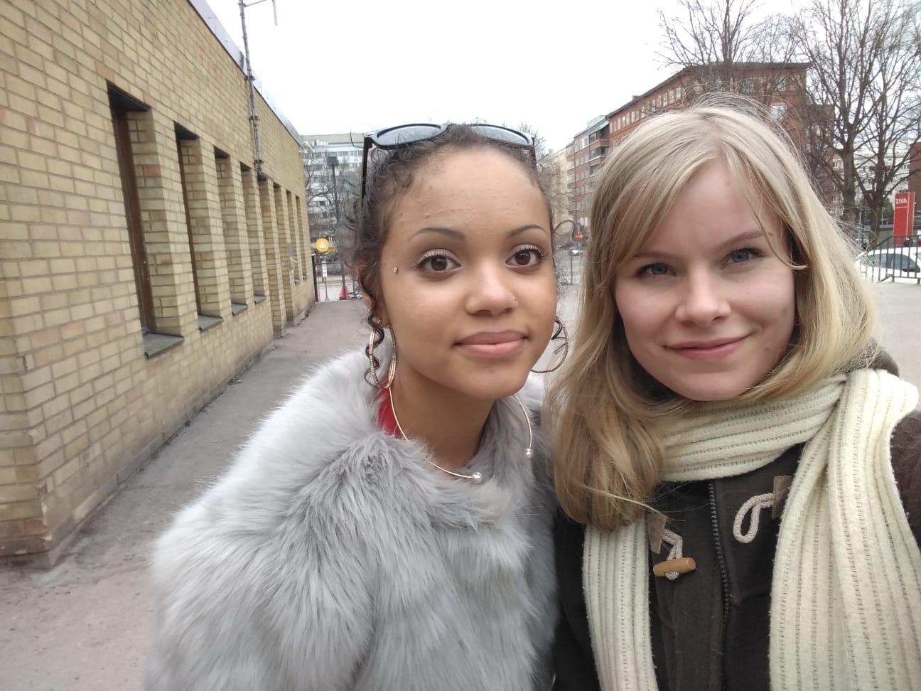 Lucy ja Vilma osallistuivat Turussa 30.3.2019 järjestettyyn nuorten jälkihuoltofoorumiin.