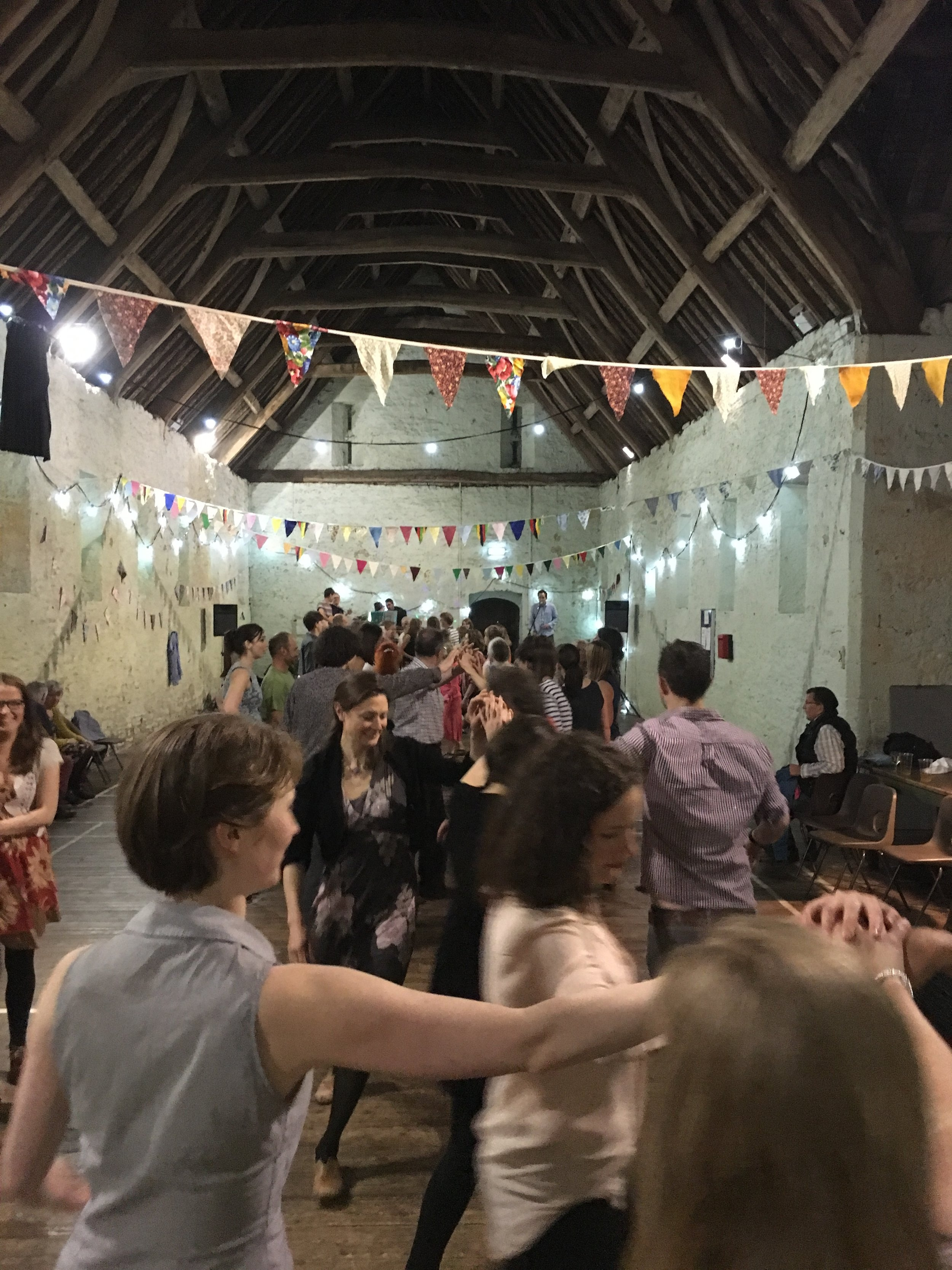 Ceilidh in the Bishop's Barn