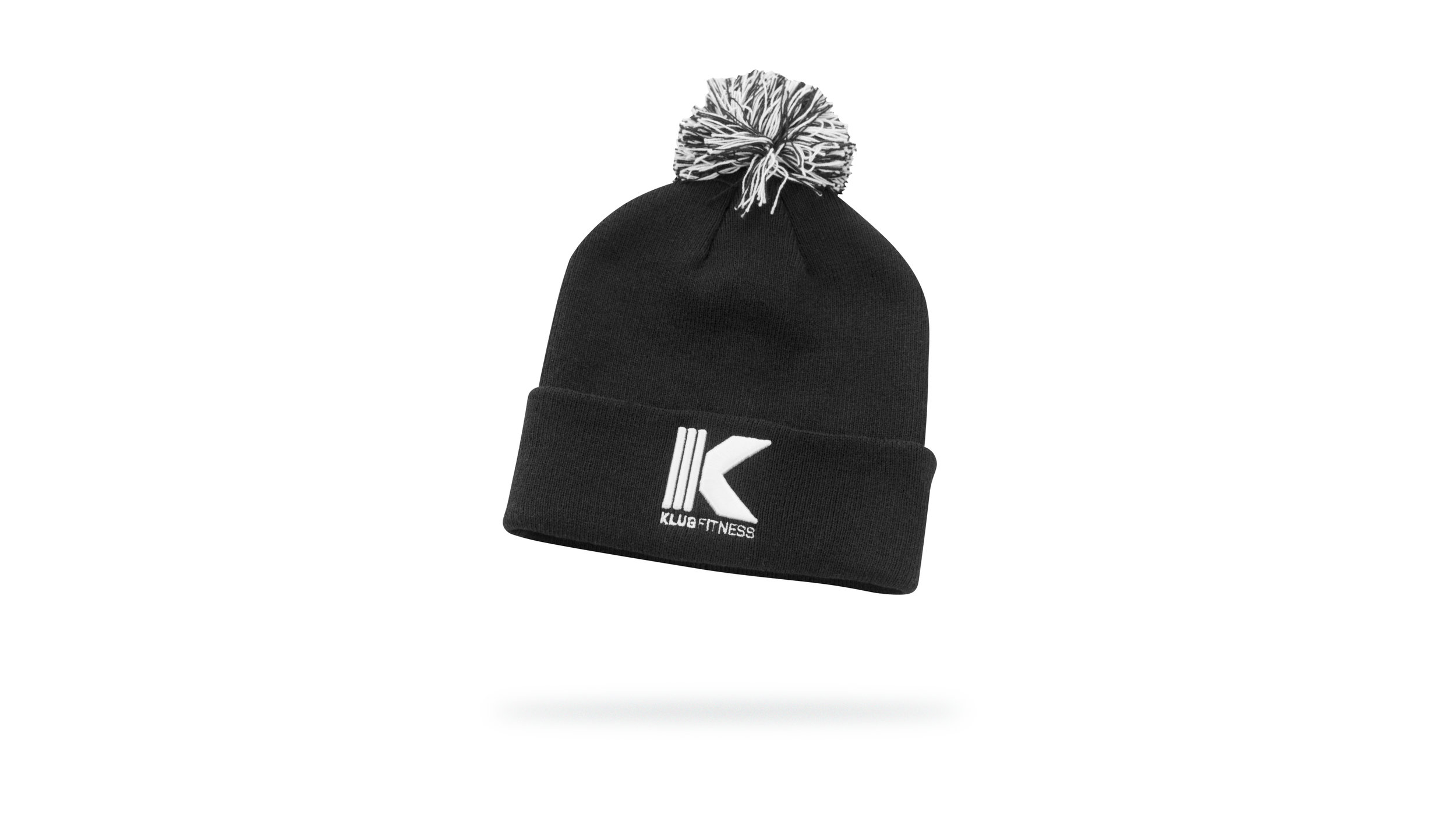 SoftKnit Cotton Winter Cap w/Flip Cuff & 3D embroidered logo