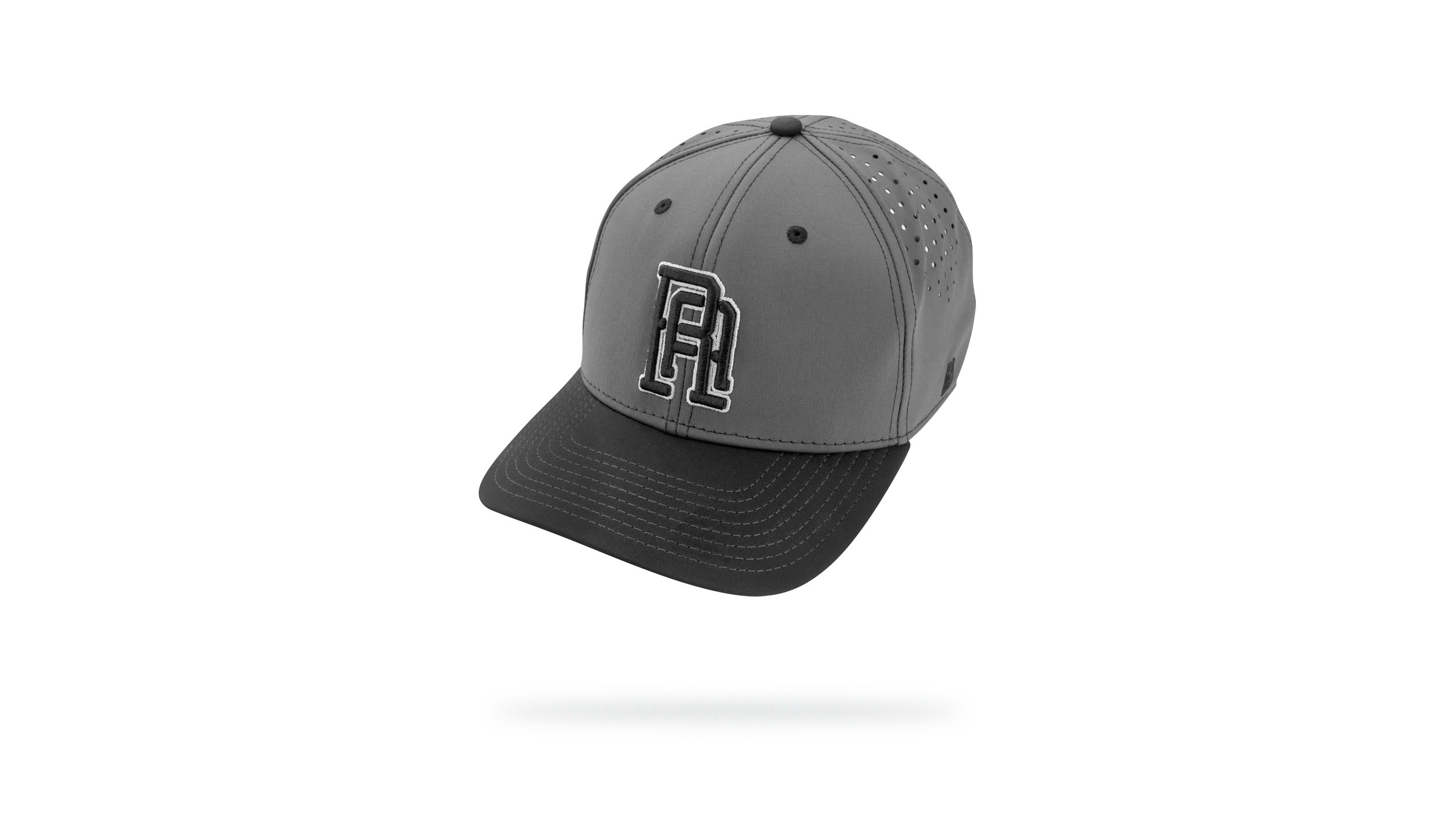 Featured Hat:  STYLE XXX - P3 Perforated Performance Cap w/Snapback closure & 3D Logo Embroidery