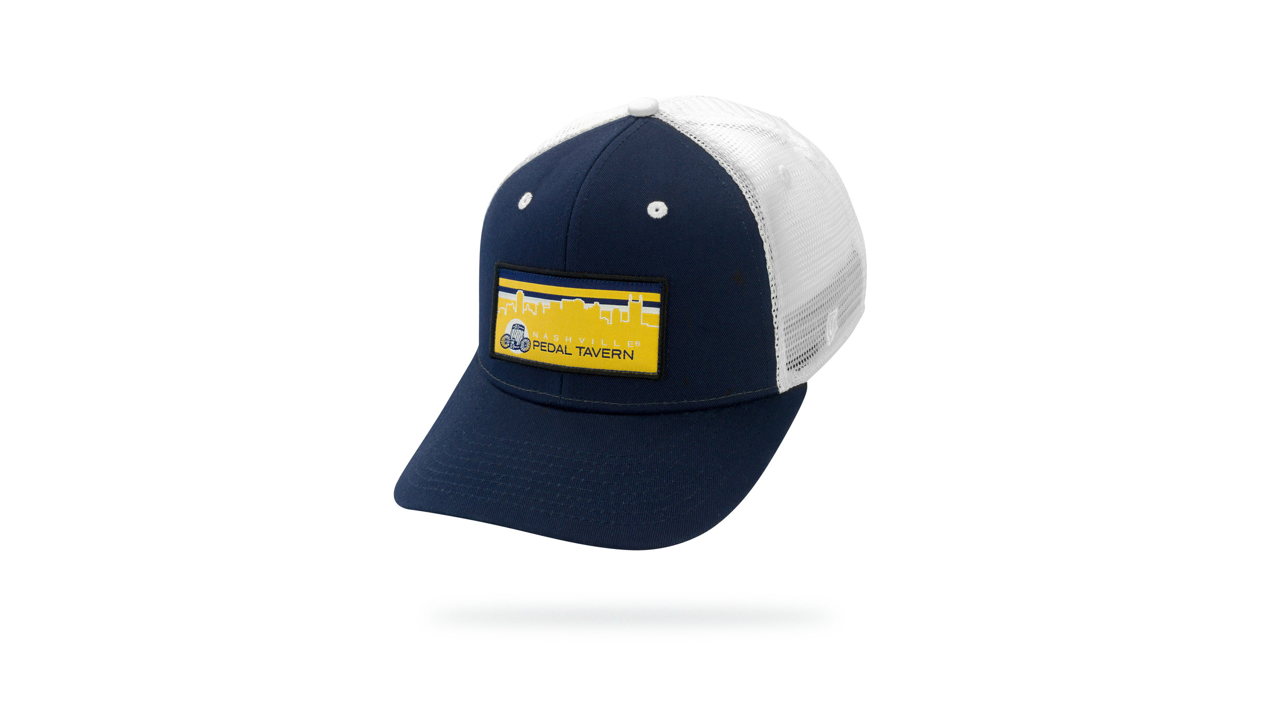 Featured Hat: Style IV - Vintage Trucker w/ Woven Label Patch