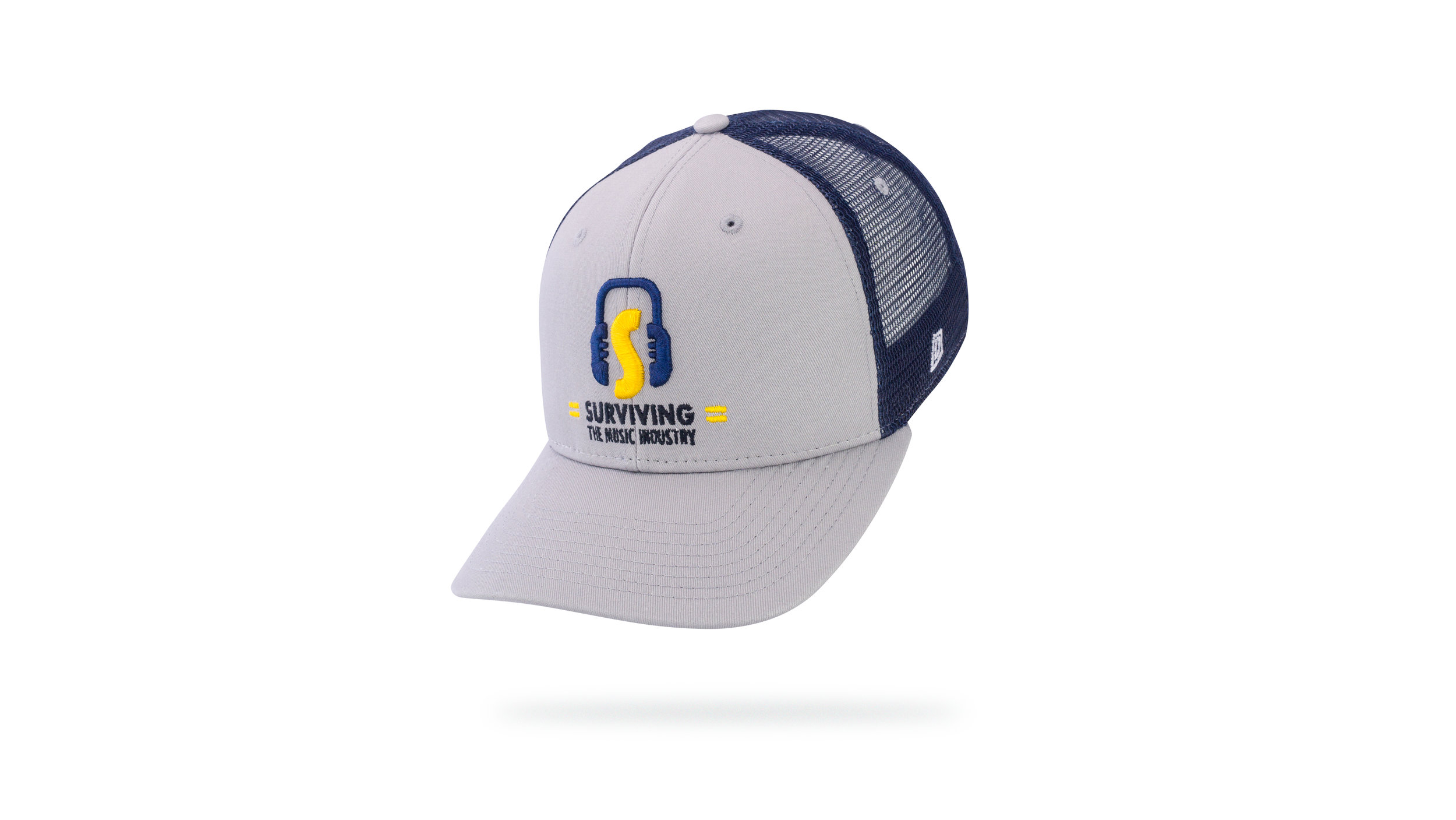 Featured Hat: Style IV - Vintage Trucker w/ 3D & Flat Embroidery