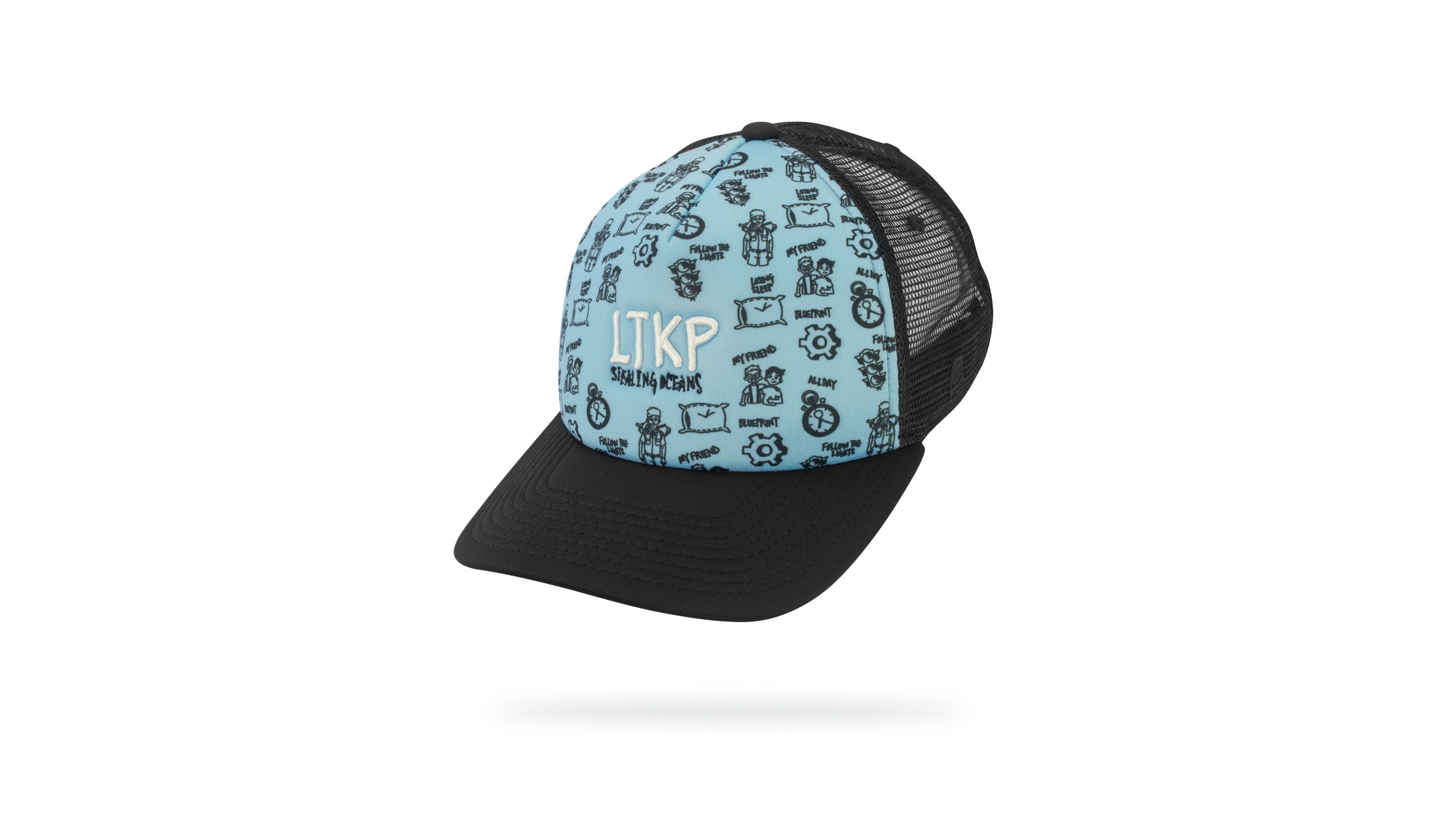 Featured Hat: STYLE LIII - Foam Trucker Hat with Custom Sublimated Front Panel Design & 3D Embroidered Front Logo