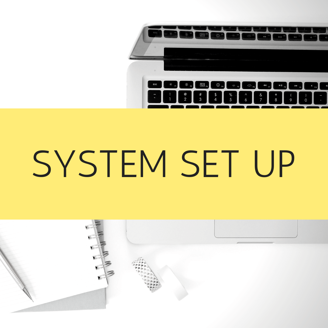 System Set Up - CRM database, email marketing system or any system that gives you a sense of overwhelm when you think about starting. I can set them up for you, saving you precious time. Don't procrastinate any longer!