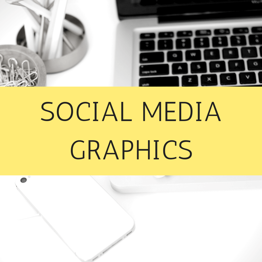 Social Media Graphics - Don't have the time or patience to design your graphics for Instagram, Facebook, Pinterest, Twitter or your website? Anything you want a designed image for - let me know and I can help.