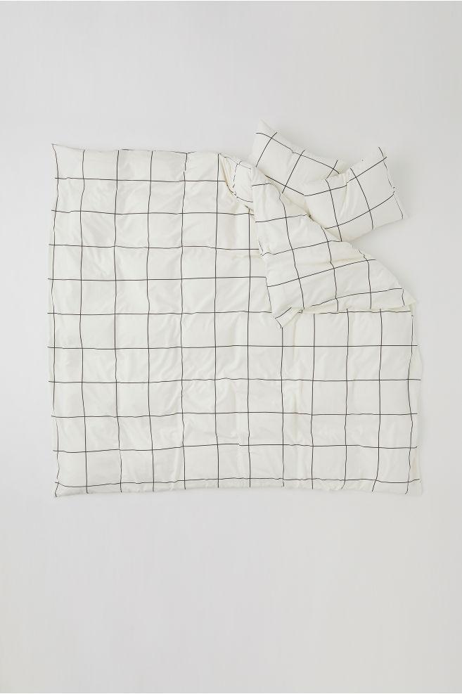Checked Duvet Cover Set - £34.99 - H&M