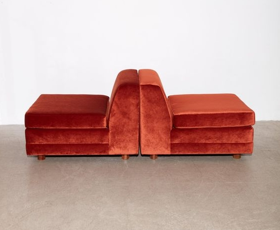 If Gemini was a beautiful twin pair of chairs, they would be 70s Henredon chairs, via Pinterest.