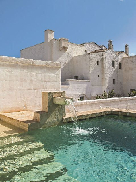 The canvas is clean and ready for your efforts. Puglia via Pinterest.