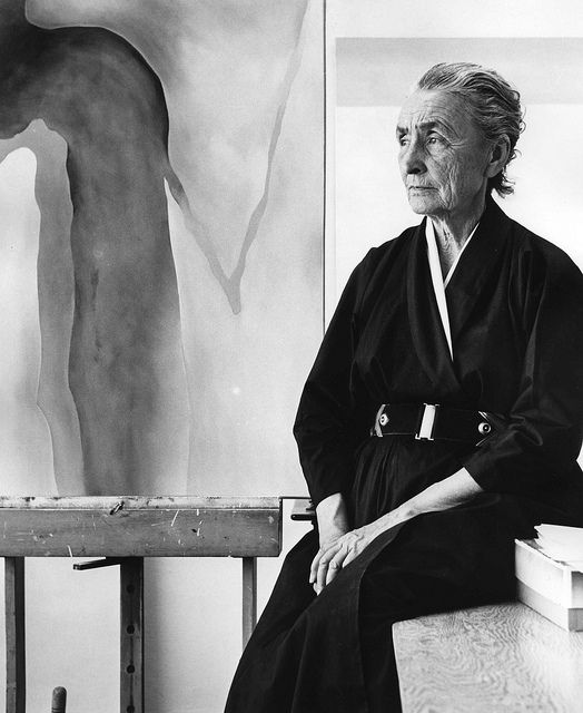 'I know now that most people are so closely concerned with themselves that they are not aware of their own individuality, I can see myself, and it has helped me to say what i want to say in paint.' - - Georgia O'Keeffe