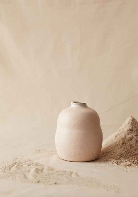Feminine energy is receptive, it is the cup, the womb. We as individuals need to fill our own cups through nurturing the self, through rest and genuine relaxation before we can share the bounty of who we are. Otherwise, our source is empty and we switch from being embodied to being flighty, scattered and airy. - Image: Bikis Ceramics