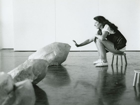 The function of the artist in a disturbed society is to give awareness of the universe, to ask the right questions, and to elevate the mind. - - Marina Abramovic (Image: Crystal Cinema I, 1991)