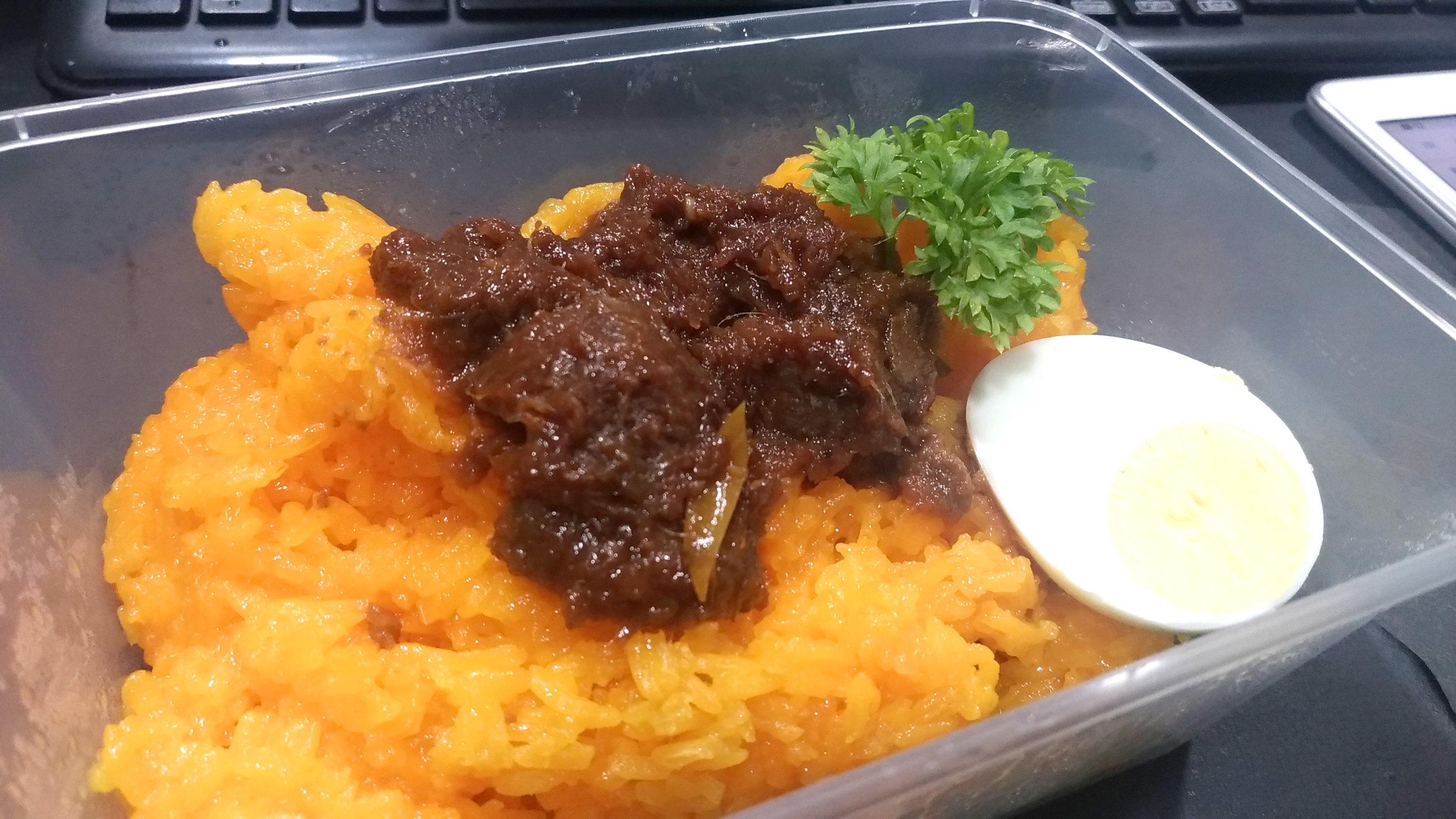 Nai Pulut Kuning with Beef Rendang.jpg