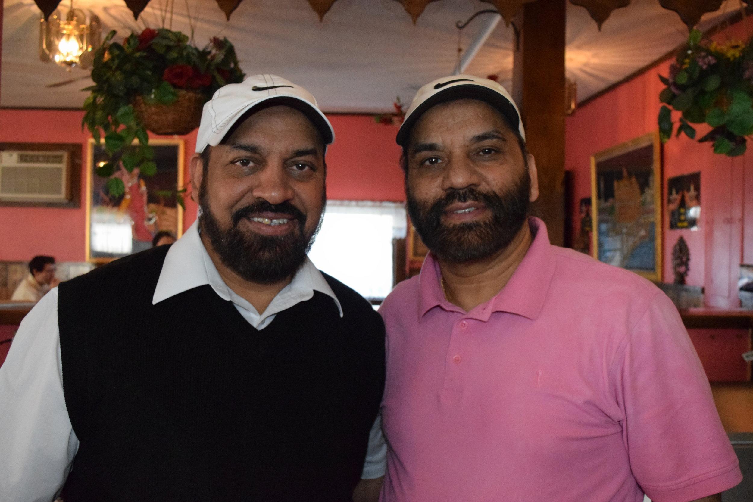 Brothers, Joga and Jarnail Singh.
