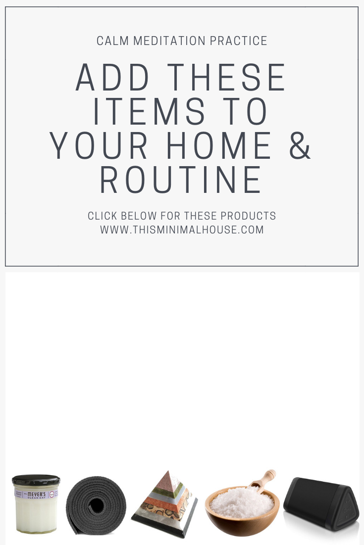 ADD THESE ITEMS TO YOUR HOME & ROUTINE!!