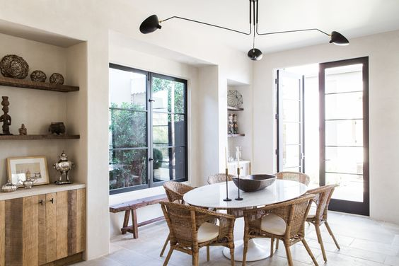 THIS MINIMAL HOUSE DINING ROOM TABLE ROUND UP