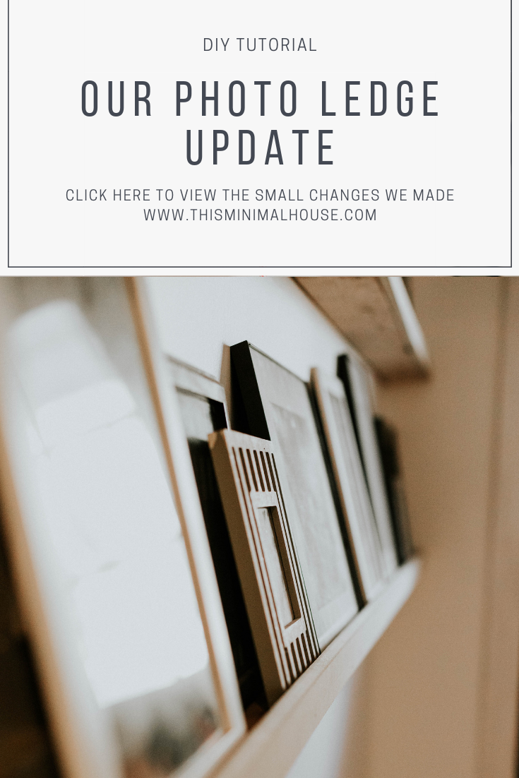 OUR PHOTO LEDGE UPDATE