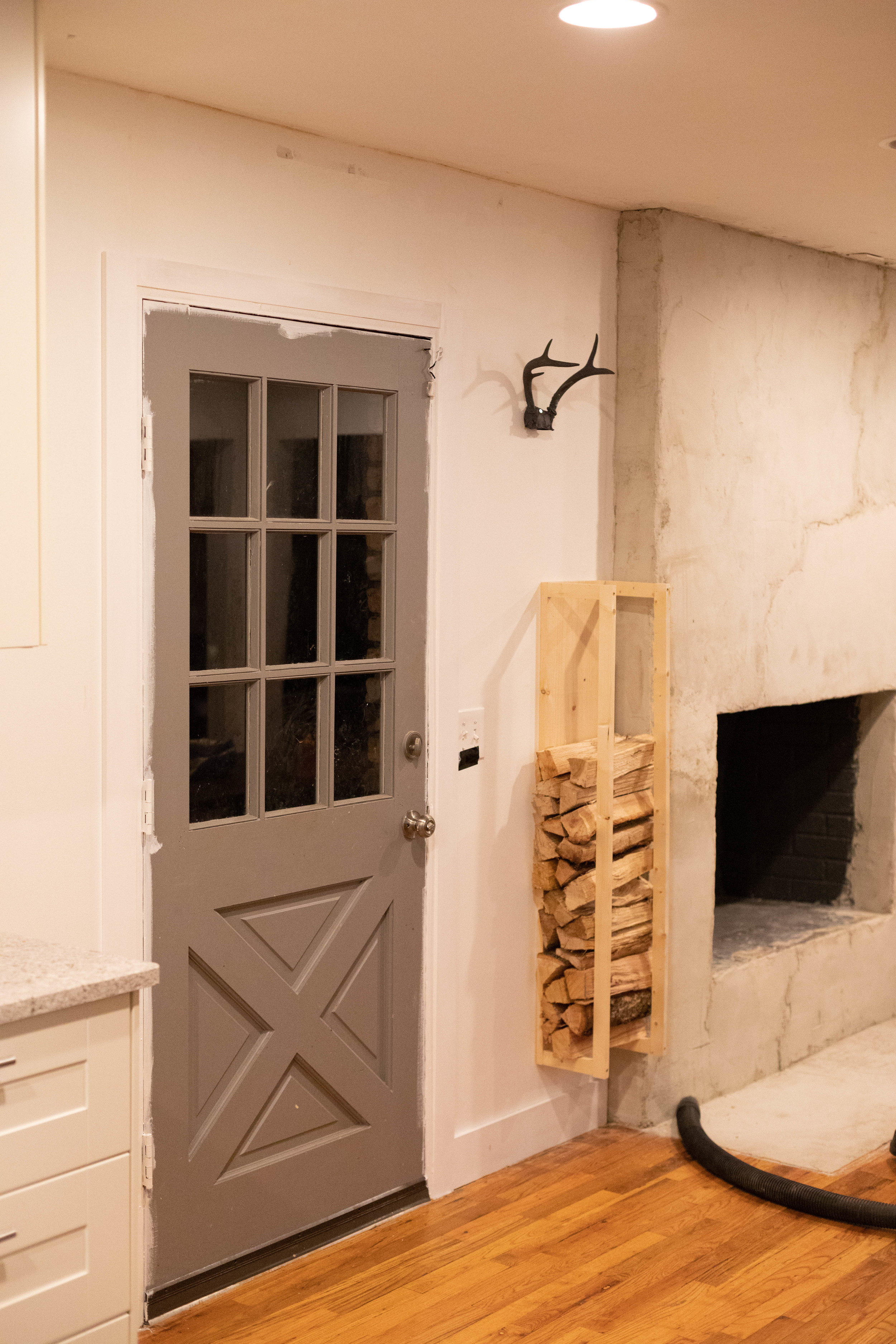 OUR OLD FARMHOUSE DINING ROOM DOOR