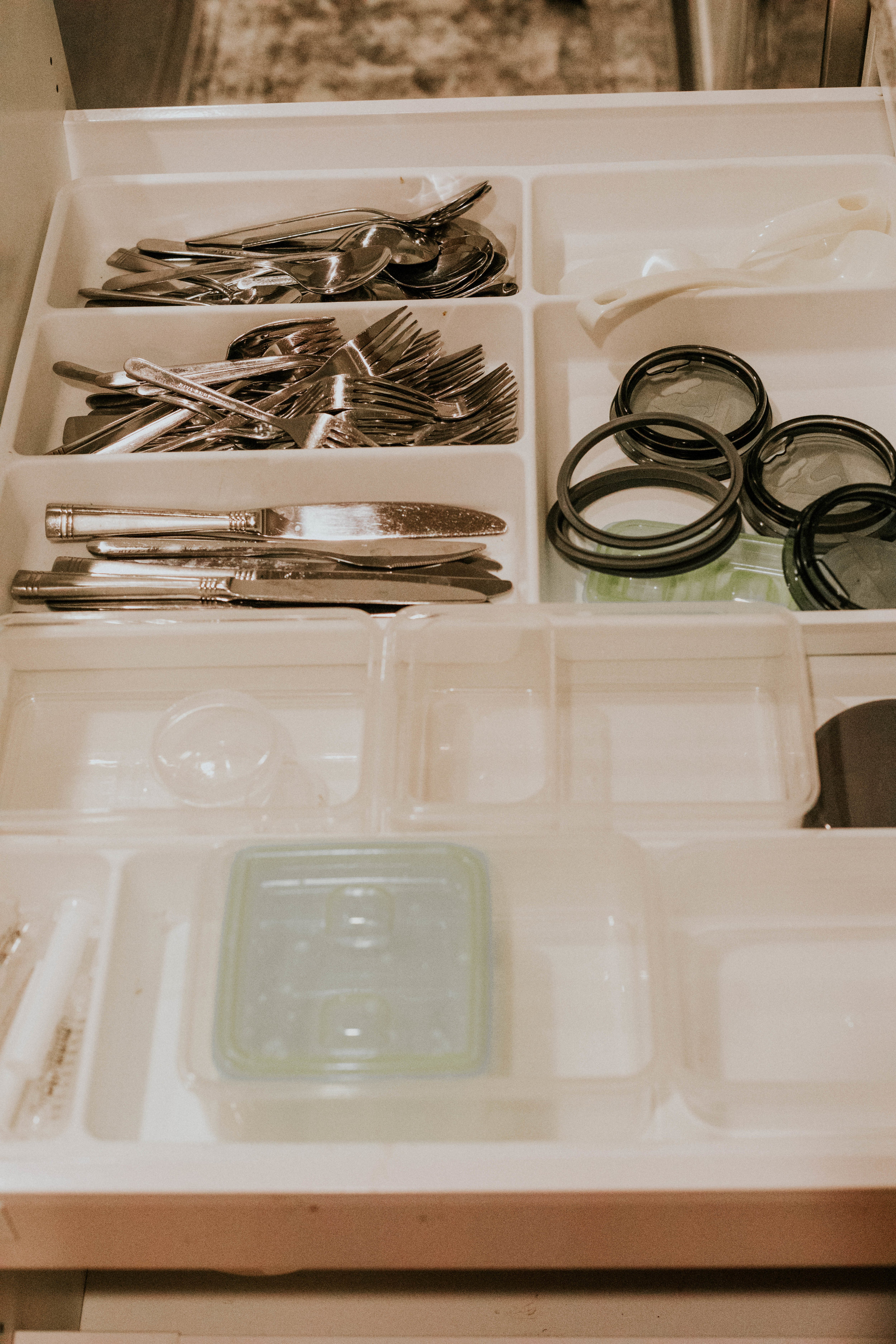 DRAWER ORGANIZATION FOR IKEA CABINETS