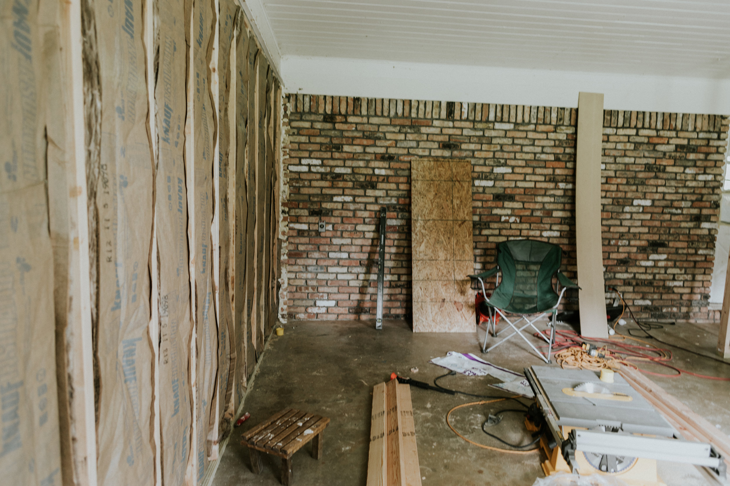 Renovating a garage into a livable square footage